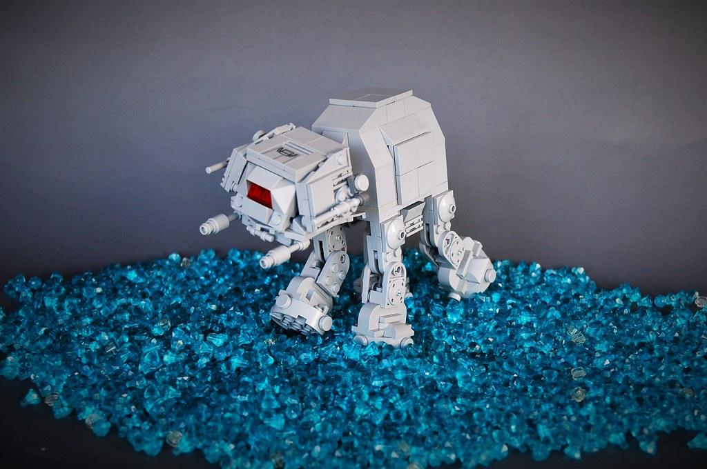 Chibi AT-AT (custom built Lego model)