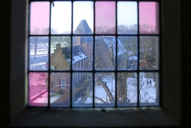 Stained glass of the Doorwerth Castle