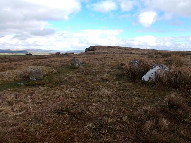 Ravensheugh Crags stone circle, Nikon COOLPIX L26