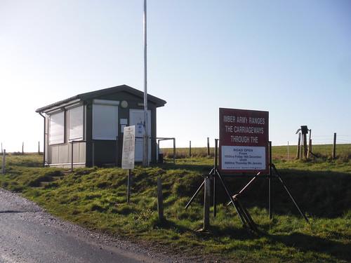 Imber Range, Bratton Vedette/Sentry Box