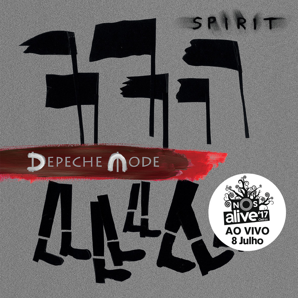 Depeche Mode - capa c sticker