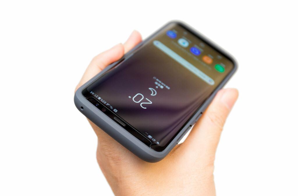 Galaxy S8/S8+ 找保護?『rhinoshield 犀牛盾防摔手機殼』『9H 3D 滿版玻璃保護貼』入手開箱分享 @3C 達人廖阿輝
