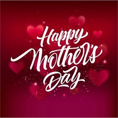 free vector Happy mother Valentine's Day background