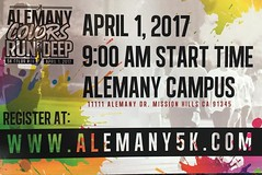 The 5k Color Run is coming up soon. Make sure you get registered!