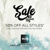 Exile: 50% Off Sale
