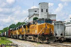 UP 9613 | GE C44-9W | CN Memphis Subdivision