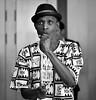 Africapella singer
