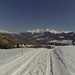 Nad vesnicí Vignogn se klikatí spousta asfaltek k salaším, ale v zimě se neupravují.  V mokrém sněhu Vám nepomůže ani náhon na všechny čtyři., foto: archiv Pavla Trčaly