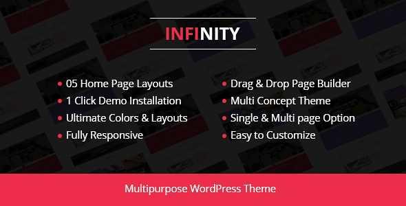 Infinity WordPress Theme free download