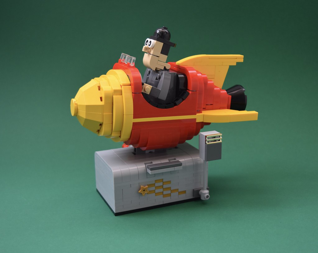 Retro ride (custom built Lego model)
