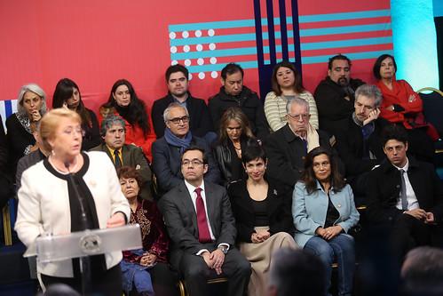 Ceremonia lanzamiento Plan Nacional de Economía Creativa