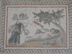 Mosaic of Psyche and Eros