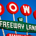 Freeway Lanes Bowl by Poteet Photo