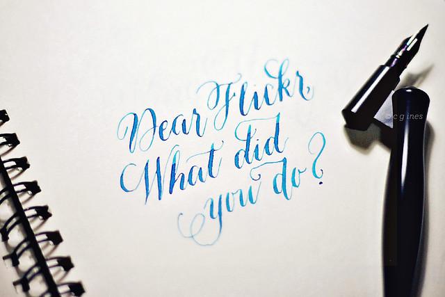 Dear Flickr