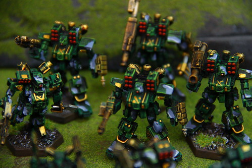 Heavy Gear Miniature Army from DreamPod 9