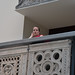 Face from the balcony - V&A by Monceau