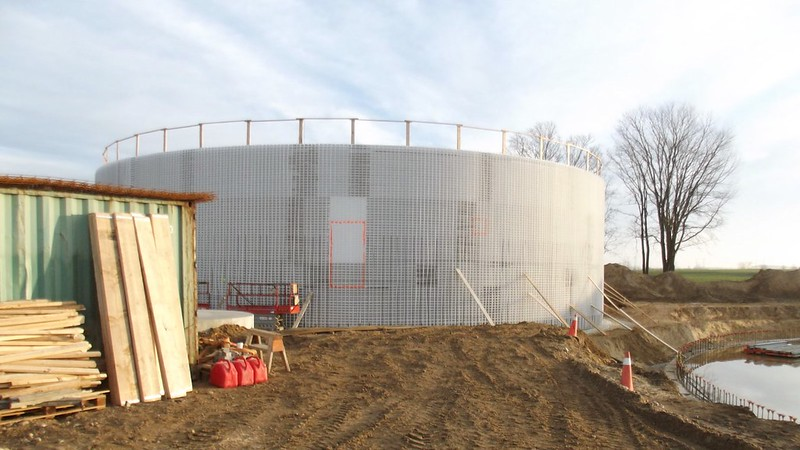 Biogas Tank Construction