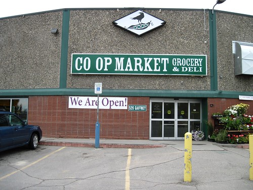 A new Co-op Market and Deli, centrally located in a former Fairbanks grocery store, is open for business with support from USDA and the Golden Valley Electric Association. Photos by Jane Gibson, USDA.