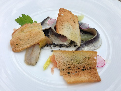 Citrus Cured Sardines on Toast