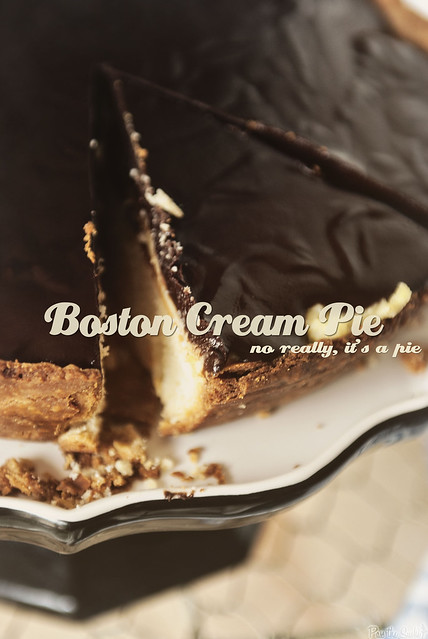 Boston Cream Pie from PasstheSushi.com