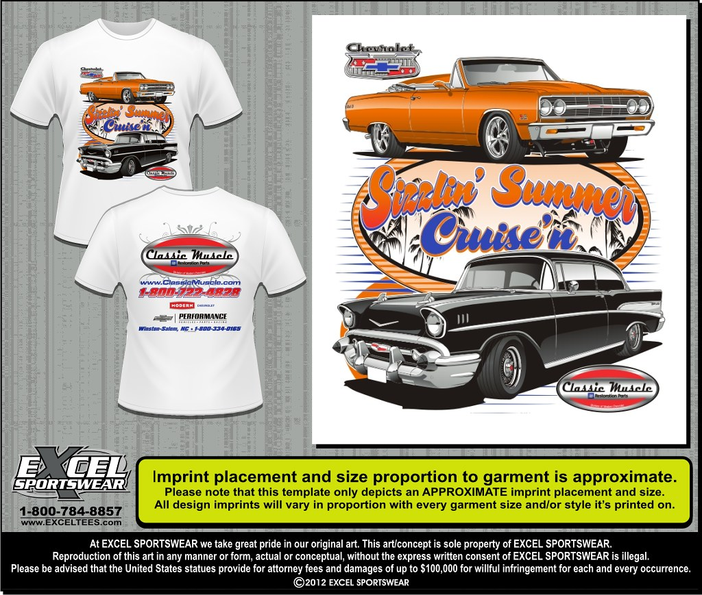 Vintage and Classic Cars - Excel Sportswear