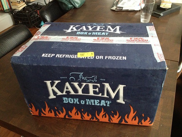 kayem box o meat