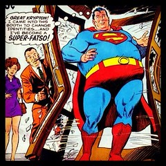 Great Scott! It's shocking how far Henry Cavill let his weight go after finishing Man of Steel! #comicbooks