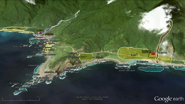 傳統領域地圖。(圖片來源:東清七號地自救會提供)