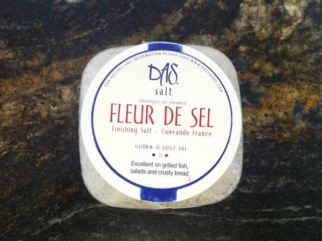 Fleur de Sel Salt for Finishing Crackers
