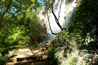 Camí del naixement del riu Pitarque