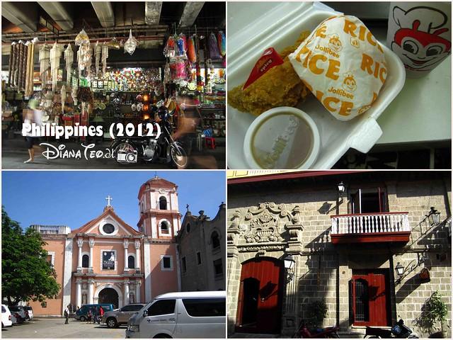 7D6N Philippines Day 3 - Quiapo Market Manila, Jollibee, San Agustin Church & Casa Manila