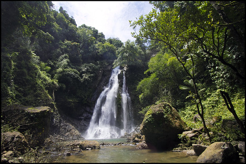 Tamnang Waterfall at Sri Phang Nga National Park