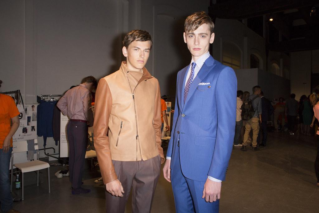 SS14 Milan Canali100_Merlin Watts, Tom Webb(fashionising.com)