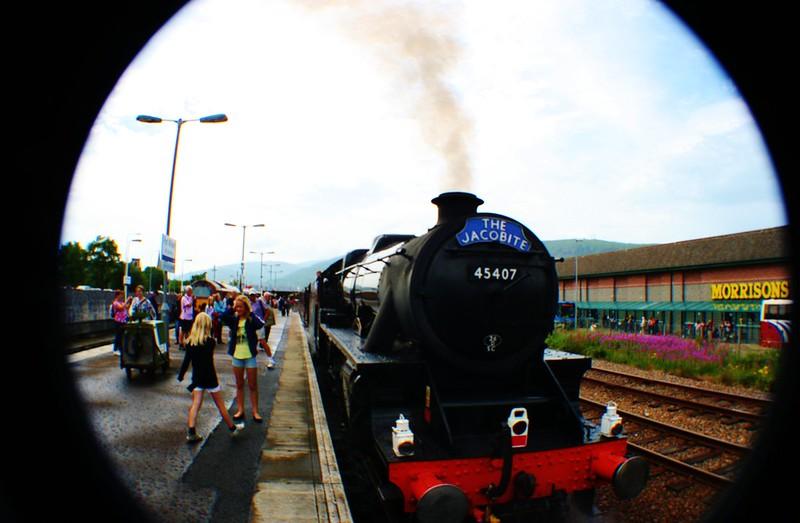 Jacobite Express Steam Train, Scotland