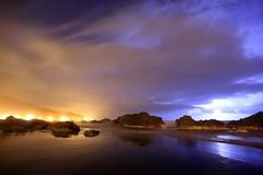 陰陽雙界 Yin and Yang ~Night view & Lightning of Wai'ao, Toucheng Township 頭城,外澳 ~