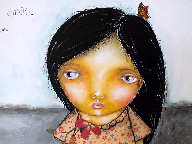 Raramuri girl