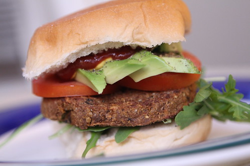 Loaded Veggie Burger