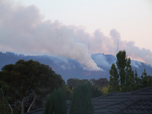 Dandenongs burn off