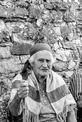 Old lady in Castelcivita by Davide Restivo