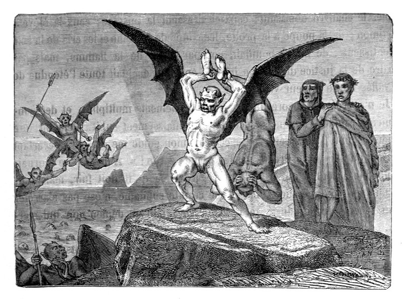 Jean-Edouard Dargent - Illustrations from Dante's Divine Comedy 1870 (15)