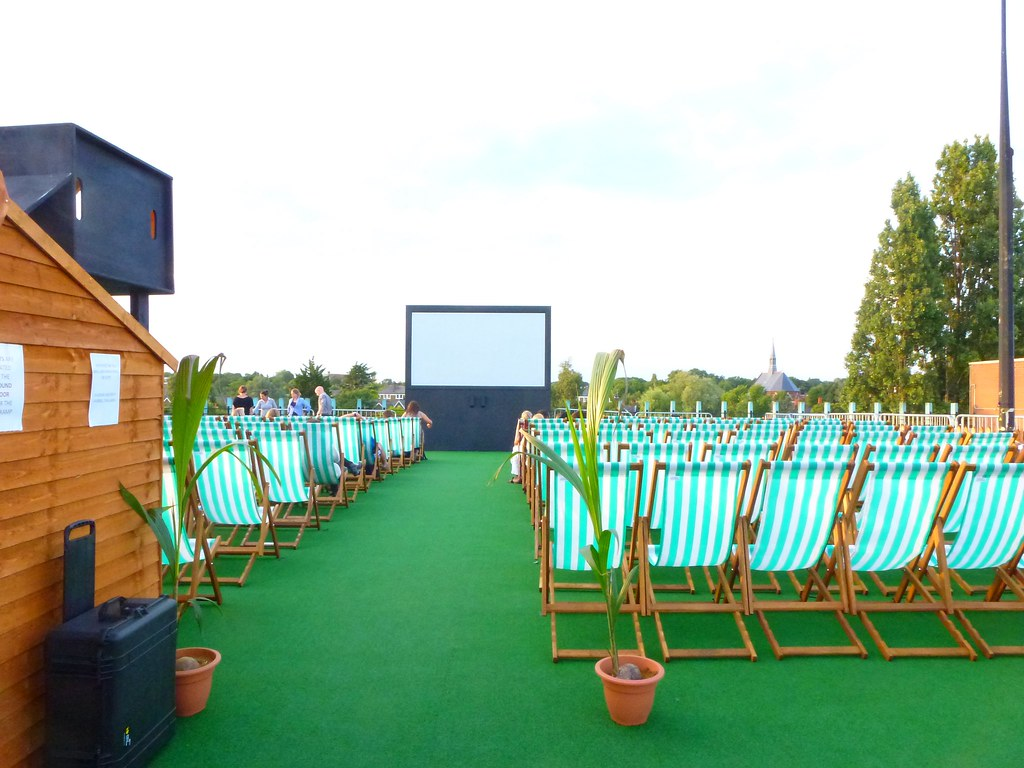 Rooftop Cinema August 2013