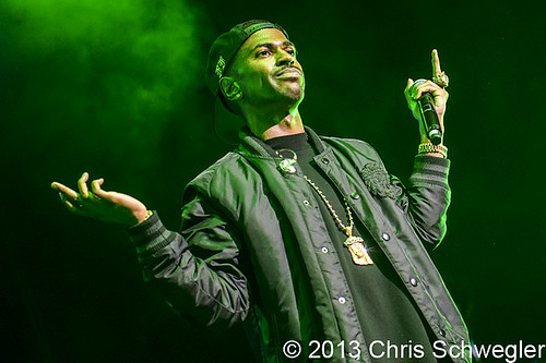 Big Sean - 08-31-13 - DTE Energy Music Theatre, Clarkston, MI