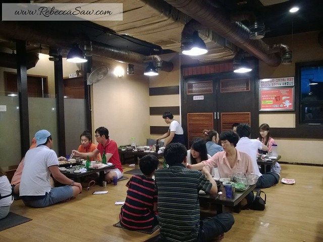 review - Jeju Island - Local food - Black Pork Heuk Dwaeji Street -007