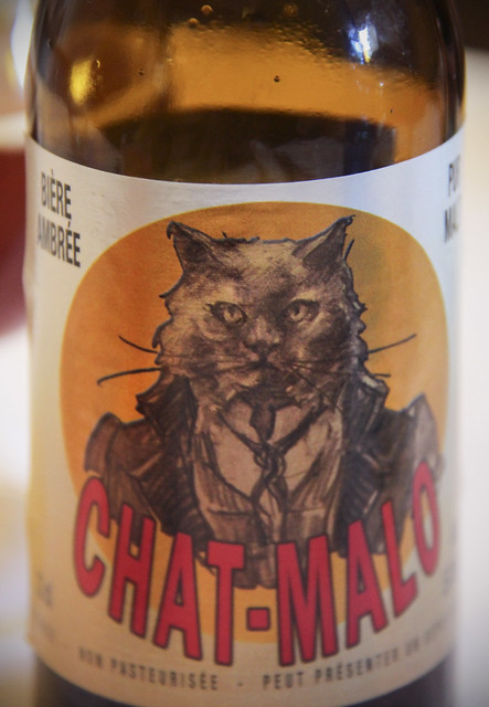 "Brittany beer  ""Chat-Malo"""