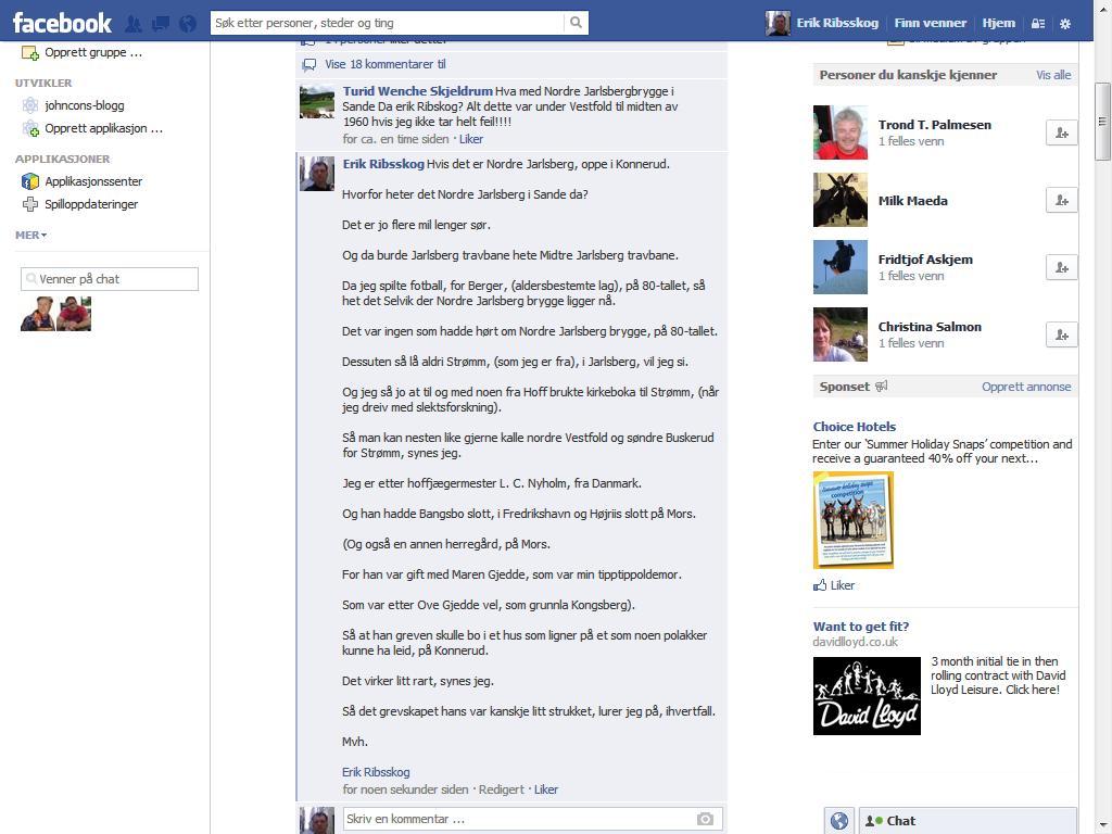 facebook gjedde