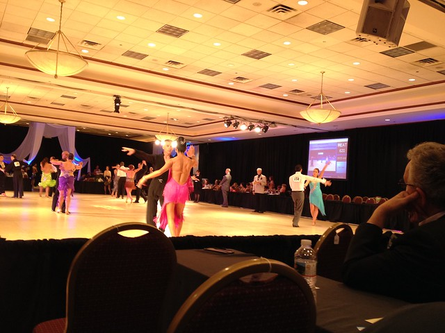 Dancesport Cleveland competition