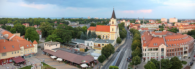 Siofok - panorama from the water tower 3