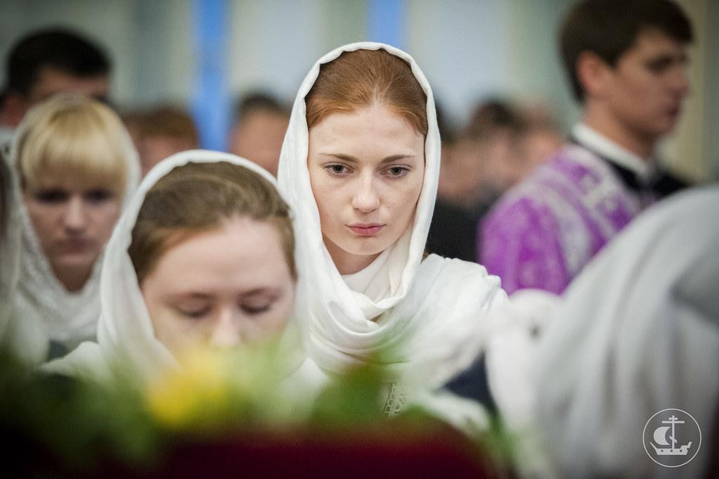 26 сентября 2013, Всенощное бдение накануне Крестовоздвижения