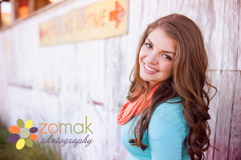 Class of 2014 senior Cassidy has her photos taken at the lewis and clark county fairgrounds
