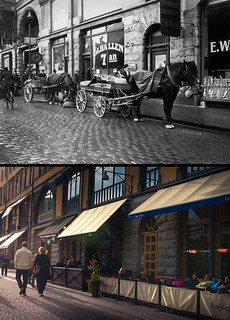 Gothenburg, Inom Vallgraven 1925 / 2013